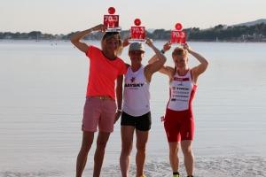OOB på podiet på Mallorca og senere bliver vi tre oså europamestre og deltager ved VM :-)  sammen med Lillan Glümer og Lærke Lilleøre.