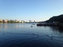 Et af favoritstederne i København - søerne :-)
