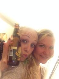 Bodyjam makker med øl til :-)