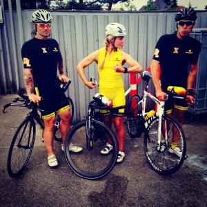 En af sommerens virkelig gode cykelpas, jeg var møg træt oven på et bryllup, men cykles skulle der med et skønt crew :-)