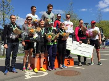 Herlev triatlon - vinder af Olympisk distance.